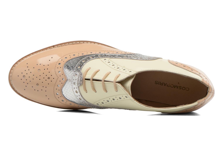 Chaussures à lacets COSMOPARIS Fadia/Ver Beige vue gauche