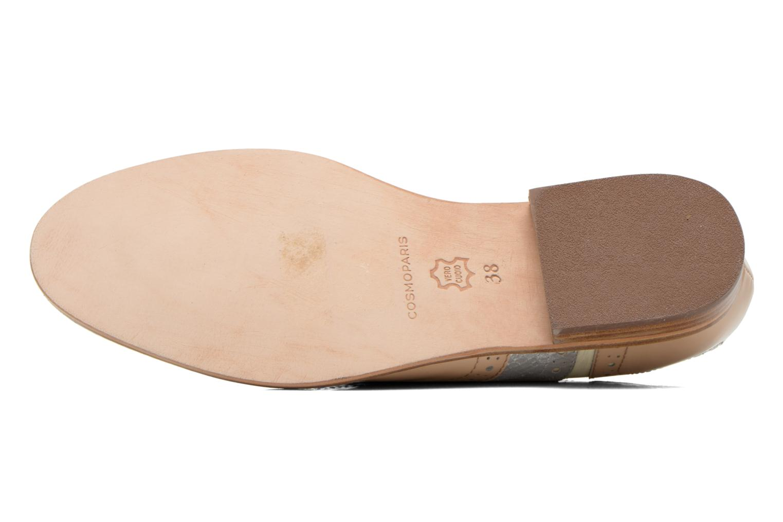Chaussures à lacets COSMOPARIS Fadia/Ver Beige vue haut