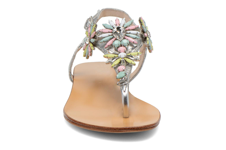 Sandals COSMOPARIS Hirly/Met Silver model view