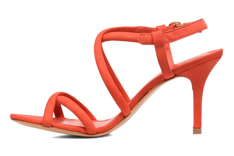 Sandales et nu-pieds COSMOPARIS Adalina/vel Rouge vue face