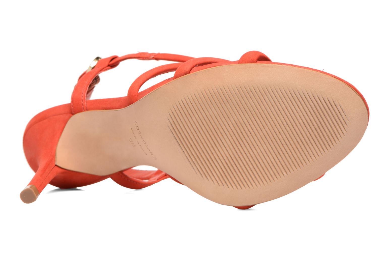 Sandales et nu-pieds COSMOPARIS Adalina/vel Rouge vue haut