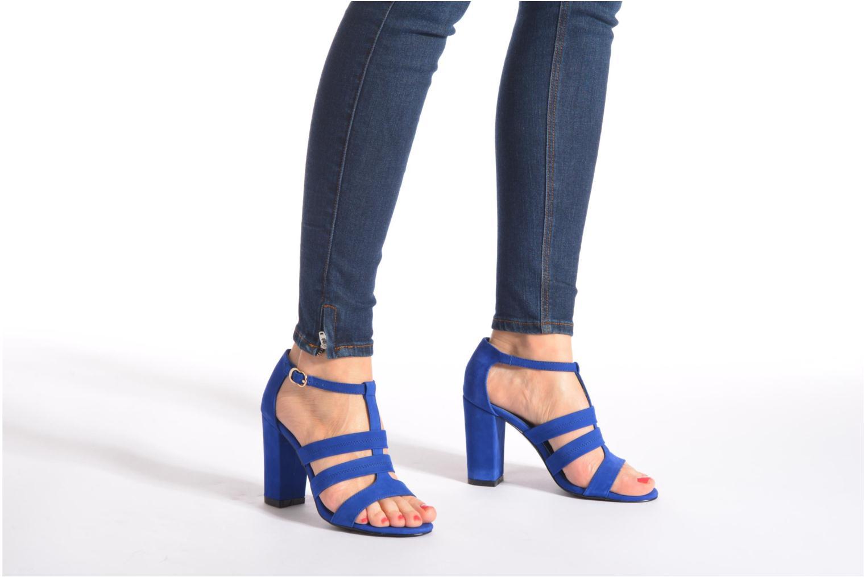 Sandalen COSMOPARIS Simia/nub blau ansicht von unten / tasche getragen