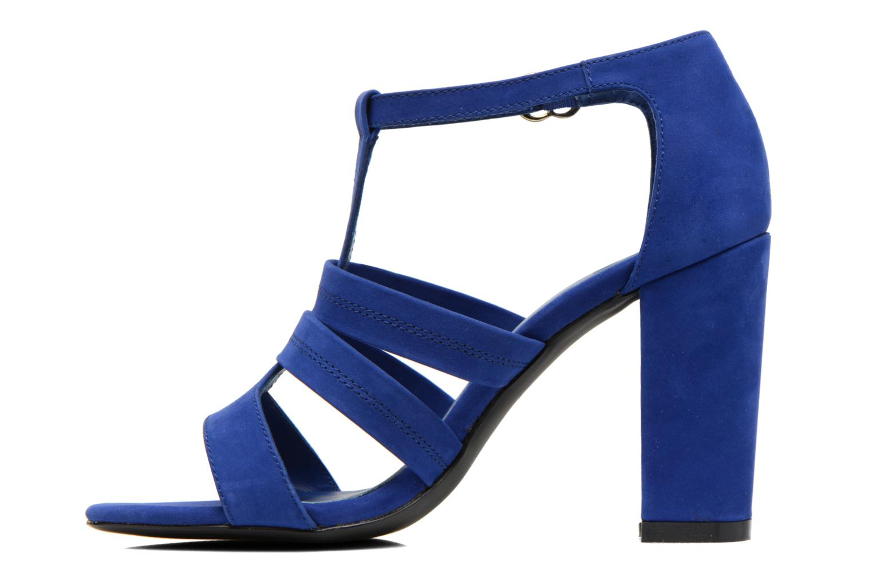 Sandals COSMOPARIS Simia/nub Blue front view