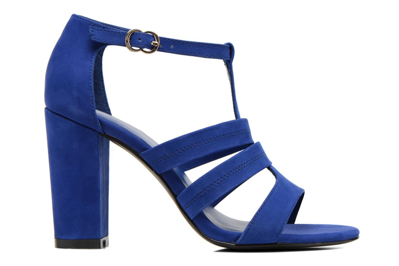Sandalen COSMOPARIS Simia/nub blau ansicht von hinten