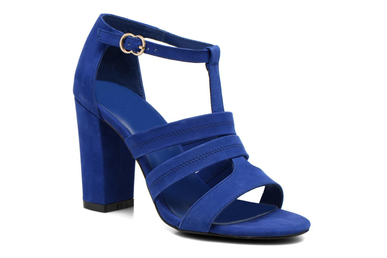 Sandals COSMOPARIS Simia/nub Blue detailed view/ Pair view