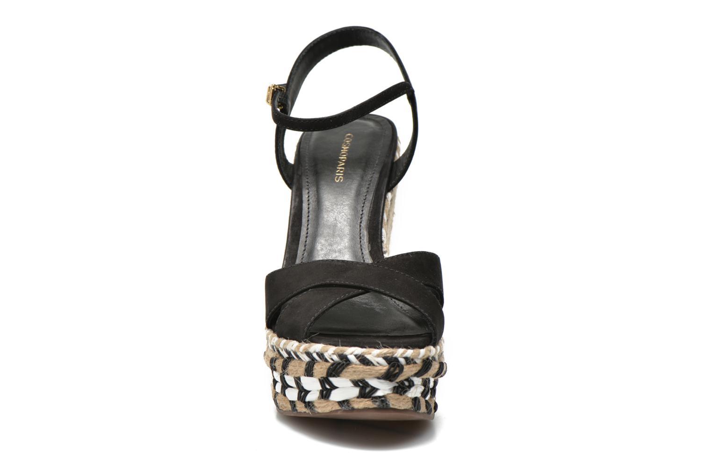 Sandalen COSMOPARIS Aedi schwarz schuhe getragen