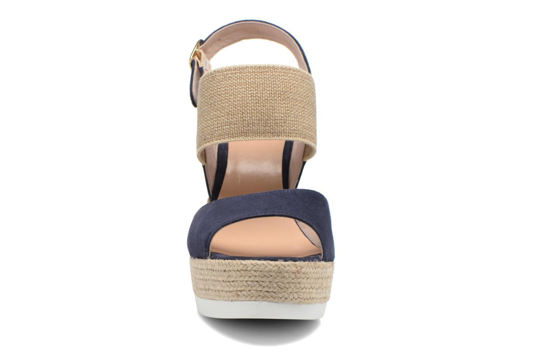 Sandalen COSMOPARIS Casti blau schuhe getragen