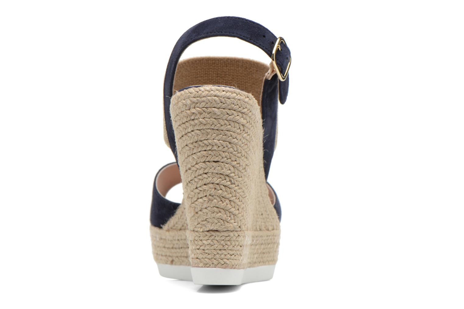 Sandals COSMOPARIS Casti Blue view from the right