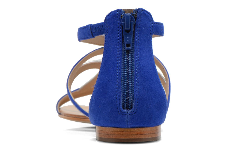 Sandalen COSMOPARIS Kilia/vel blau ansicht von rechts