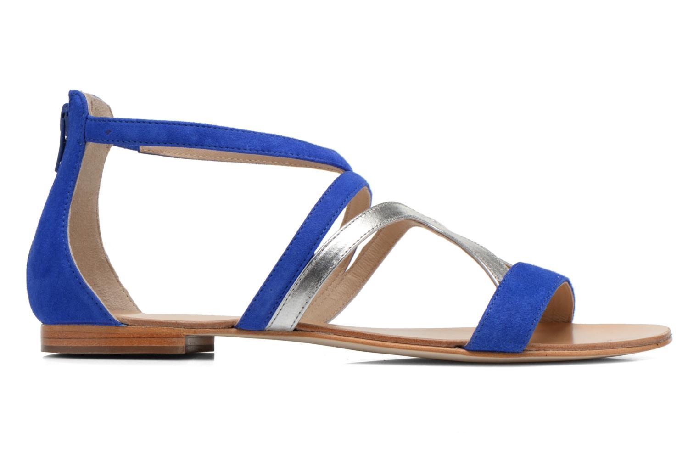 Sandalen COSMOPARIS Kilia/vel blau ansicht von hinten