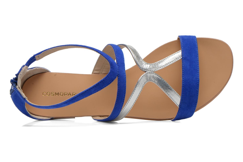 Sandalen COSMOPARIS Kilia/vel blau ansicht von links