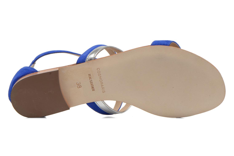 Sandalen COSMOPARIS Kilia/vel blau ansicht von oben