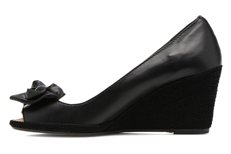 Zapatos de tacón COSMOPARIS Moana Negro vista de frente