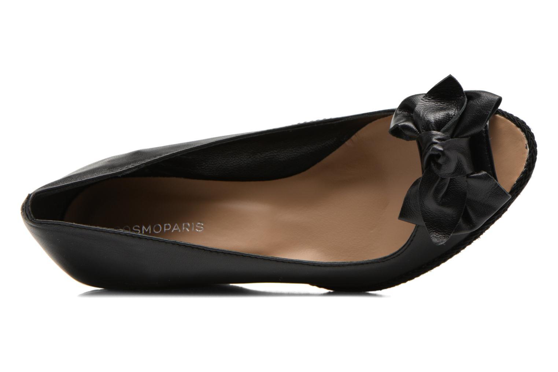 Zapatos de tacón COSMOPARIS Moana Negro vista lateral izquierda