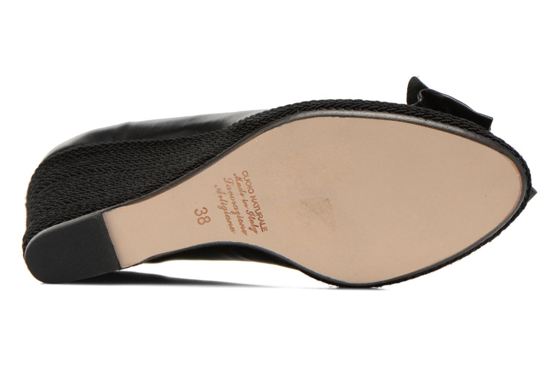 Zapatos de tacón COSMOPARIS Moana Negro vista de arriba