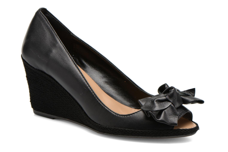High heels COSMOPARIS Moana Black detailed view/ Pair view