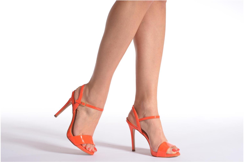 Sandals COSMOPARIS Jarica/Ver Orange view from underneath / model view