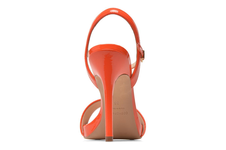 Sandals COSMOPARIS Jarica/Ver Orange view from the right