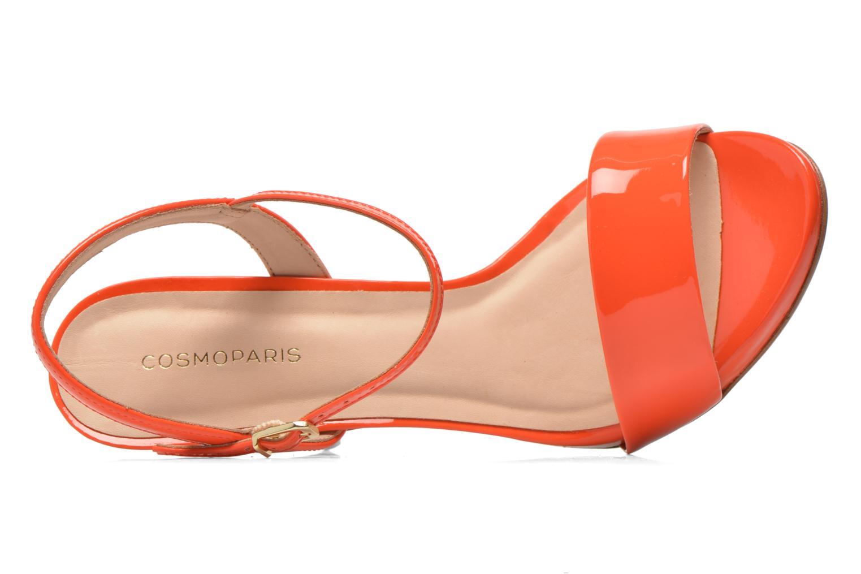 Sandals COSMOPARIS Jarica/Ver Orange view from the left
