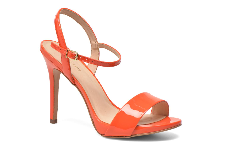 Sandals COSMOPARIS Jarica/Ver Orange detailed view/ Pair view