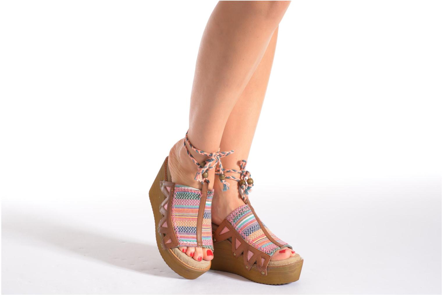 Mules & clogs Coolway Cinnamon Multicolor view from underneath / model view