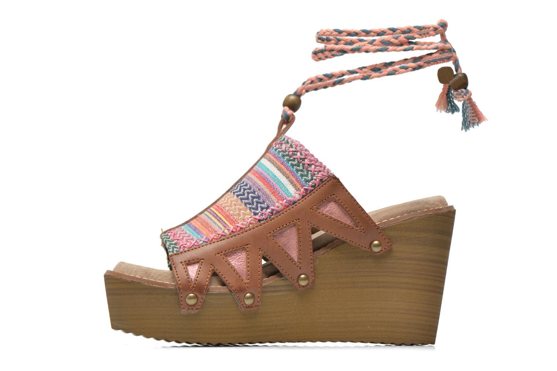 Mules et sabots Coolway Cinnamon Multicolore vue face
