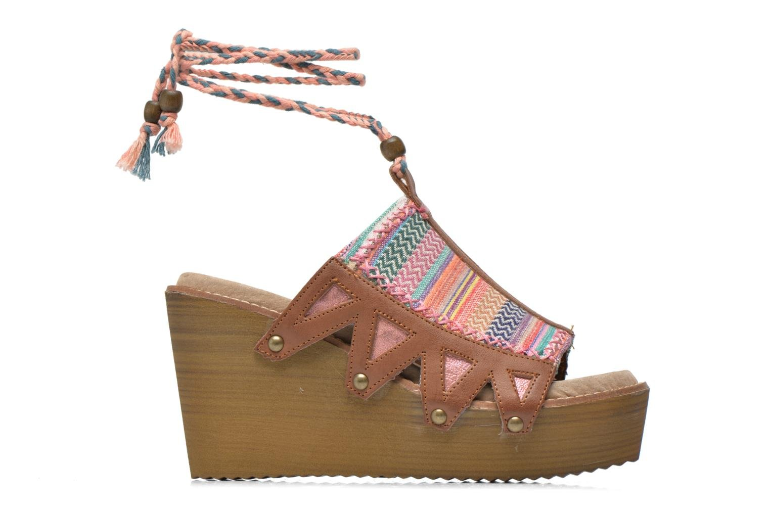 Mules & clogs Coolway Cinnamon Multicolor back view
