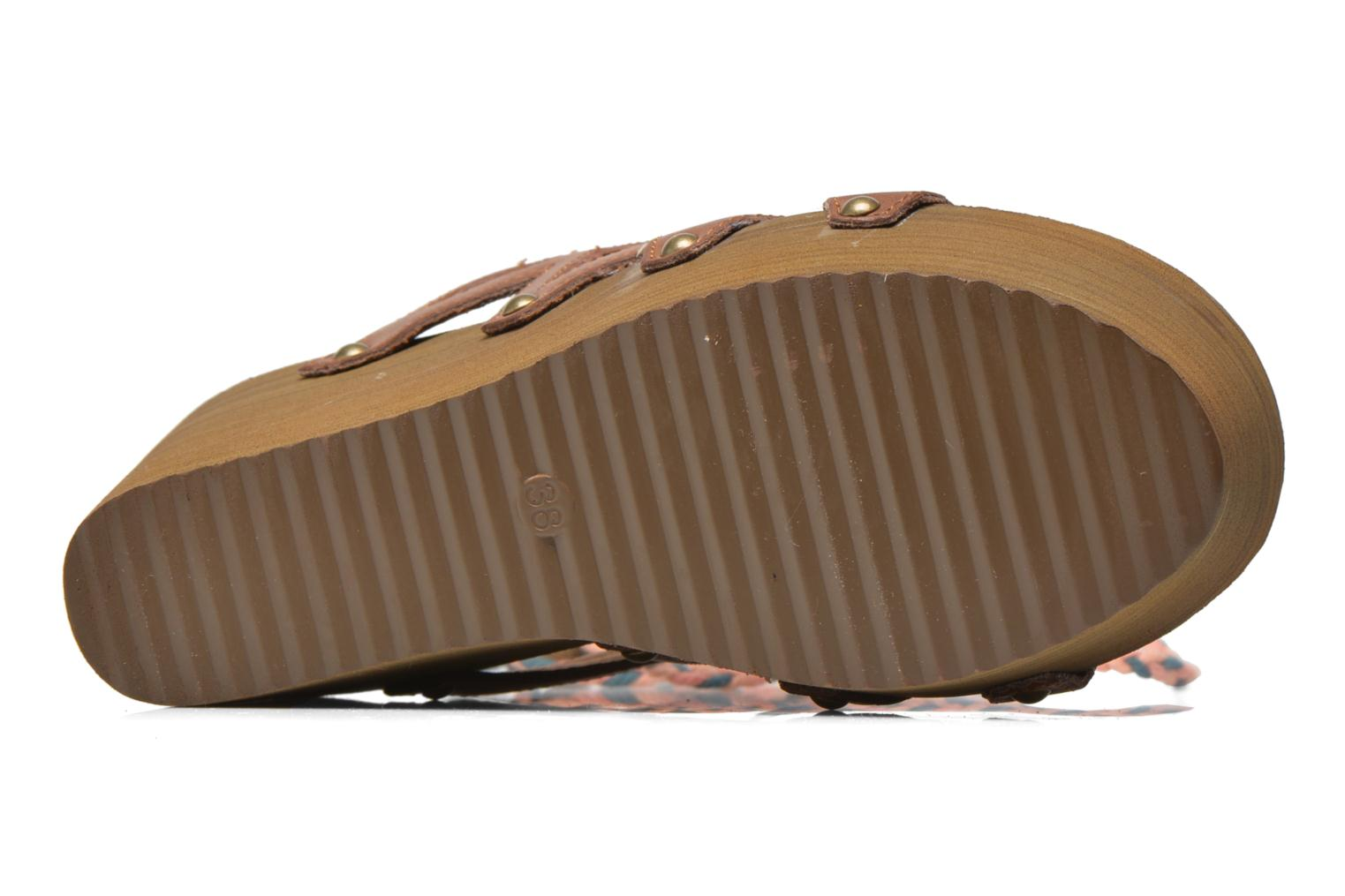 Mules & clogs Coolway Cinnamon Multicolor view from above