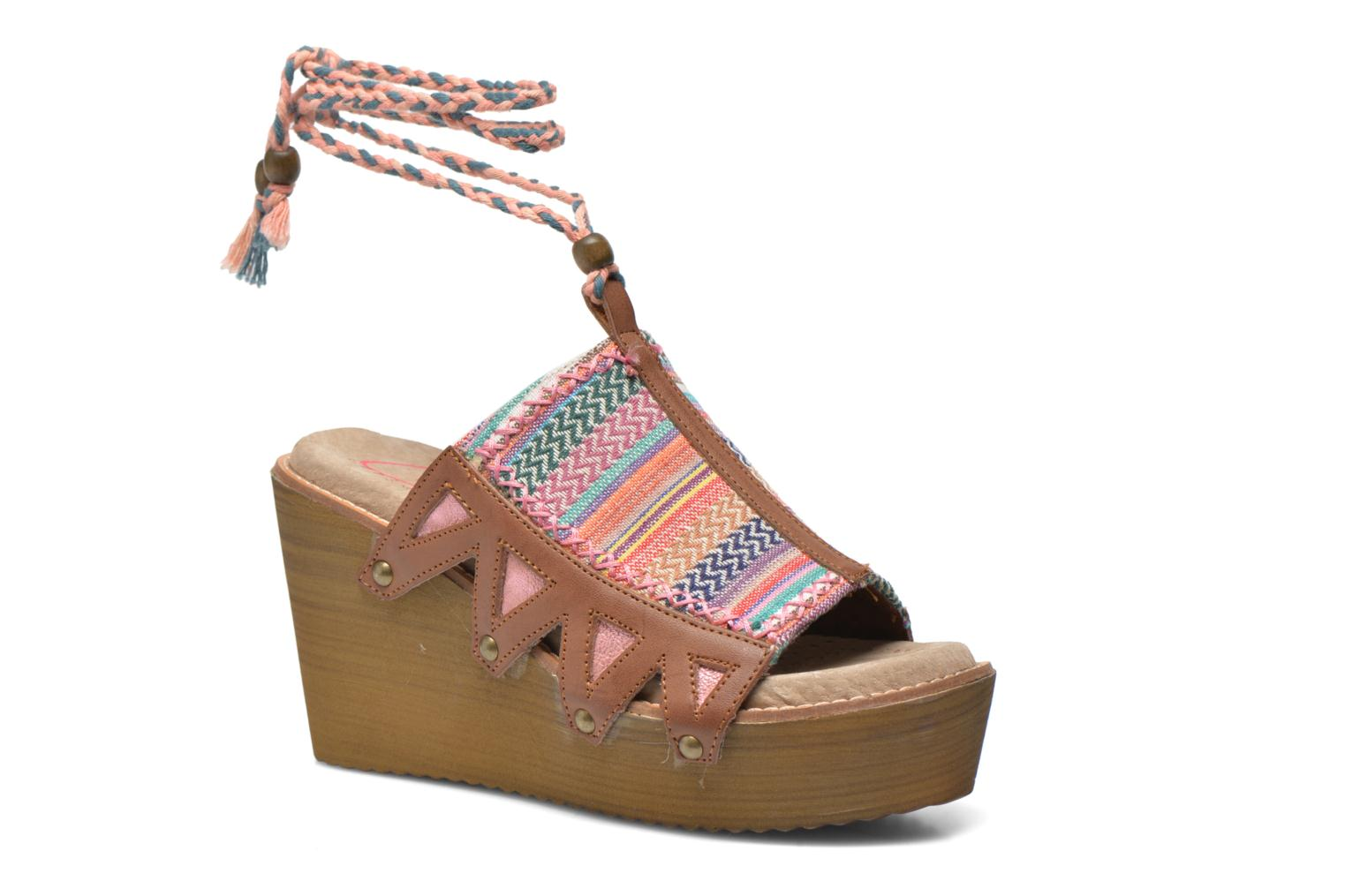 Mules & clogs Coolway Cinnamon Multicolor detailed view/ Pair view