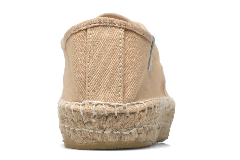 Chaussures à lacets Coolway Juttie Beige vue droite