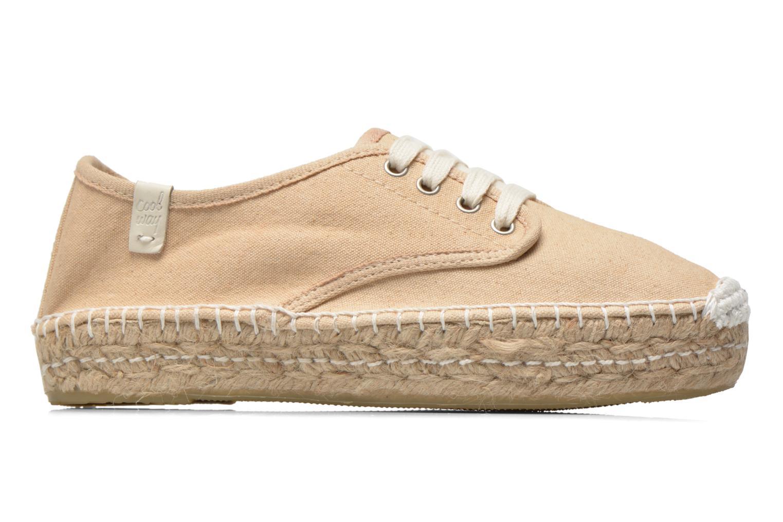 Chaussures à lacets Coolway Juttie Beige vue derrière