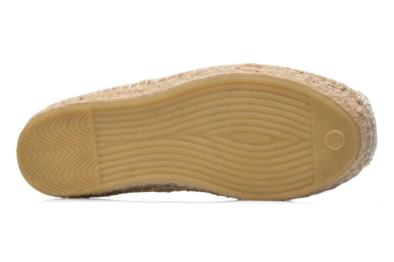 Chaussures à lacets Coolway Juttie Beige vue haut