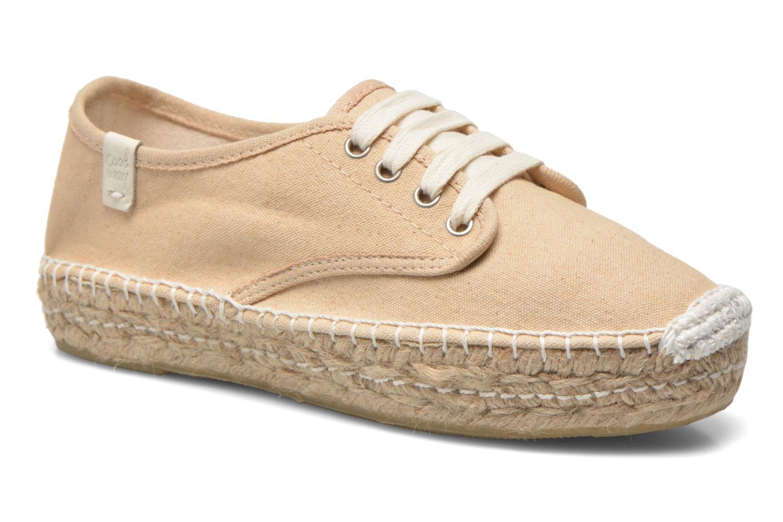 Chaussures à lacets Coolway Juttie Beige vue détail/paire