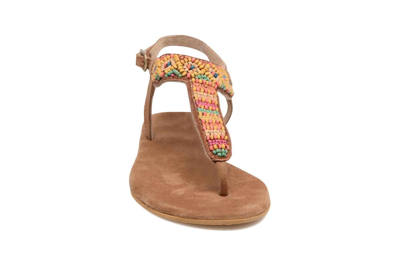 Sandali e scarpe aperte Coolway Miami Marrone modello indossato