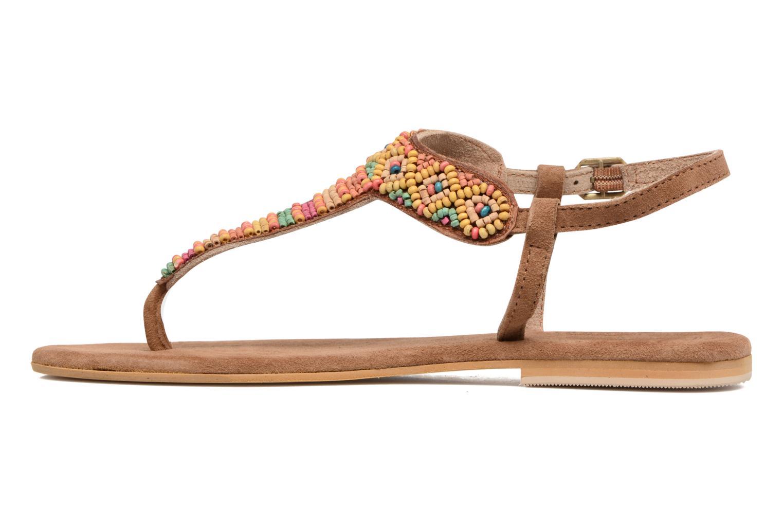 Sandales et nu-pieds Coolway Miami Marron vue face