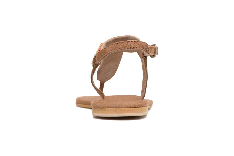 Sandales et nu-pieds Coolway Miami Marron vue droite