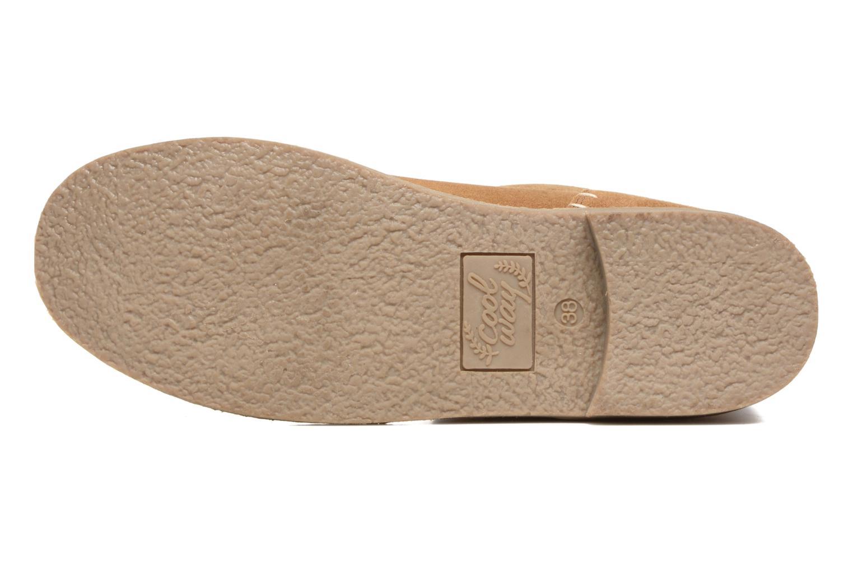 Stiefeletten & Boots Coolway Naif braun ansicht von oben