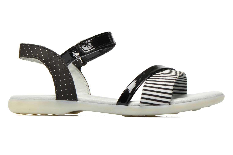 Sandales et nu-pieds Kickers Anyway Noir vue derrière