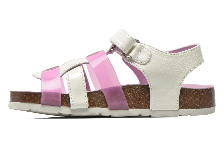 Sandales et nu-pieds Kickers Magidays Blanc vue face