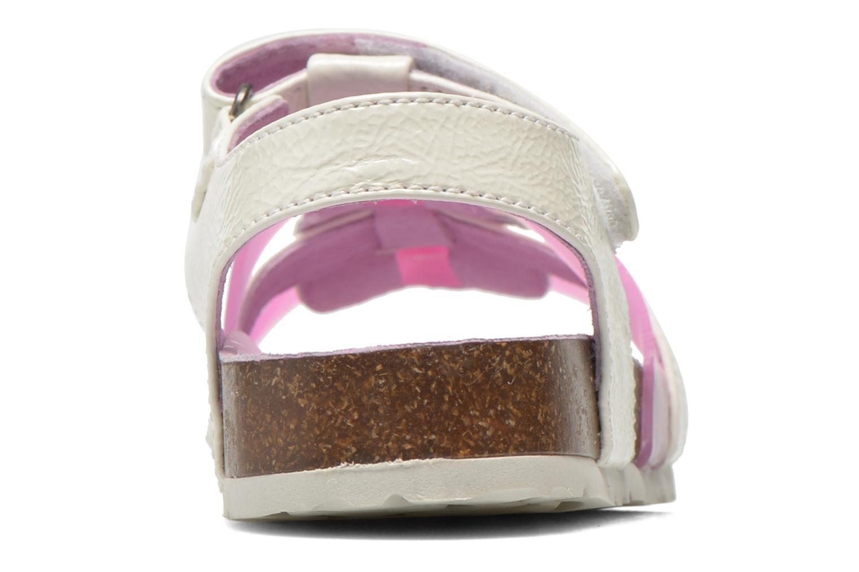 Sandales et nu-pieds Kickers Magidays Blanc vue droite