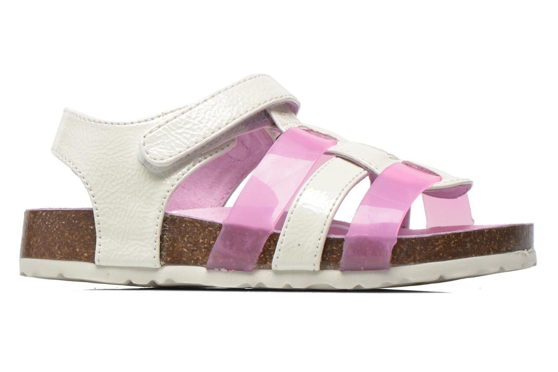 Sandales et nu-pieds Kickers Magidays Blanc vue derrière