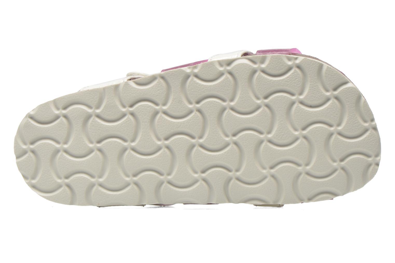 Sandales et nu-pieds Kickers Magidays Blanc vue haut