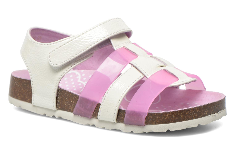 Sandaler Kickers Magidays Hvid detaljeret billede af skoene