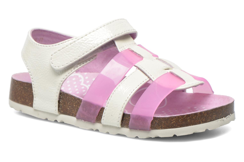 Sandales et nu-pieds Kickers Magidays Blanc vue détail/paire