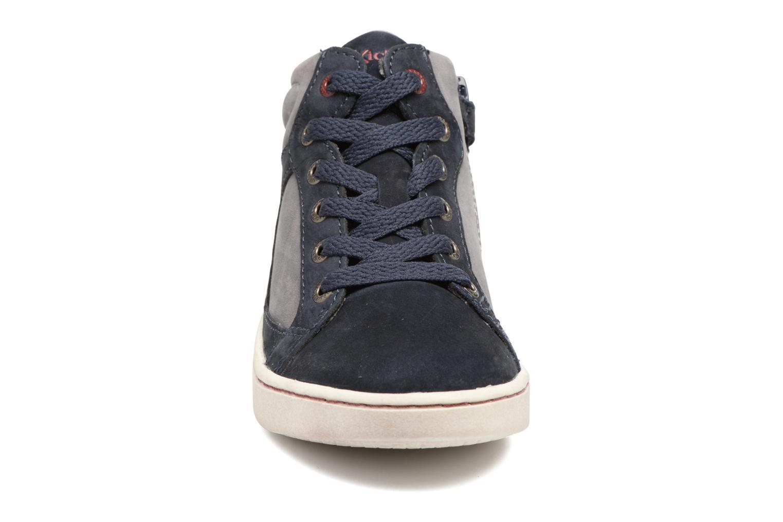 Baskets Kickers Lynx Bleu vue portées chaussures
