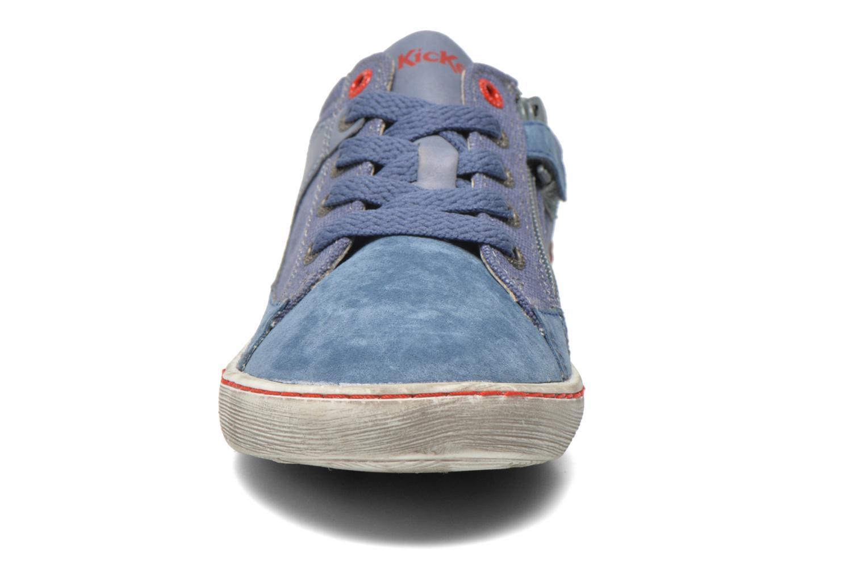 Sneakers Kickers Lylian Blå bild av skorna på