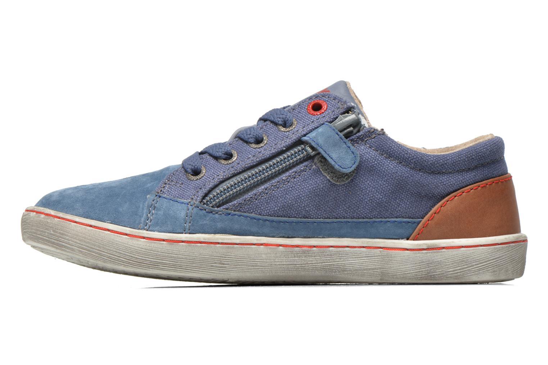 Sneakers Kickers Lylian Blå bild från framsidan