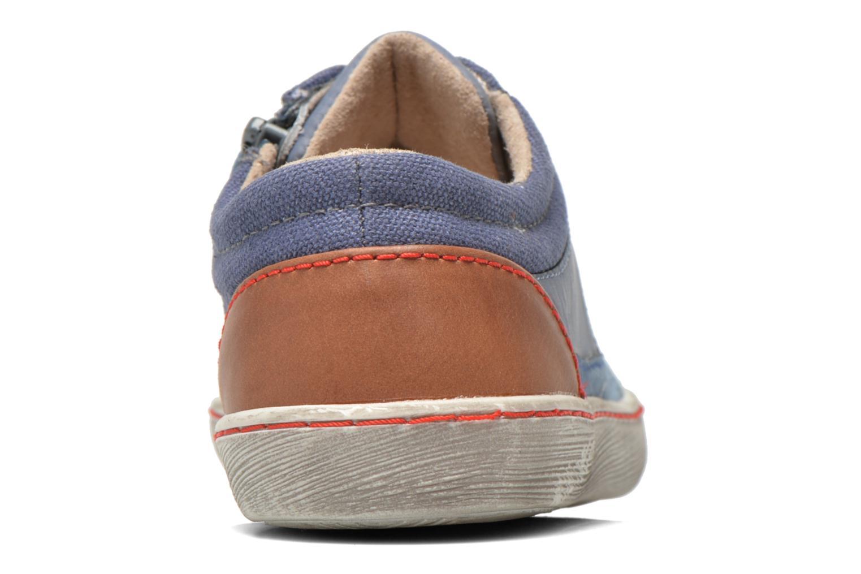Sneakers Kickers Lylian Blå Bild från höger sidan