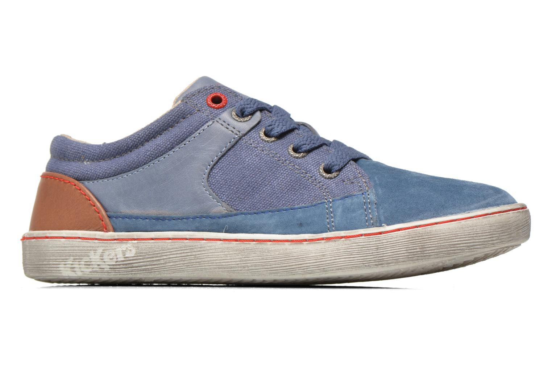 Sneakers Kickers Lylian Blå bild från baksidan