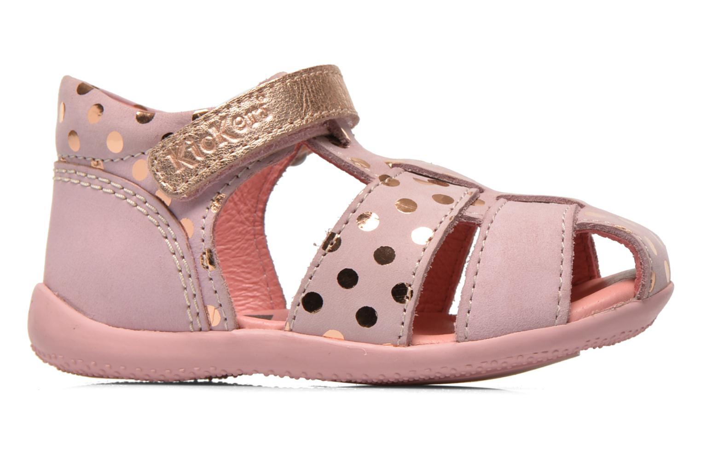 Sandaler Kickers Biggy Pink se bagfra